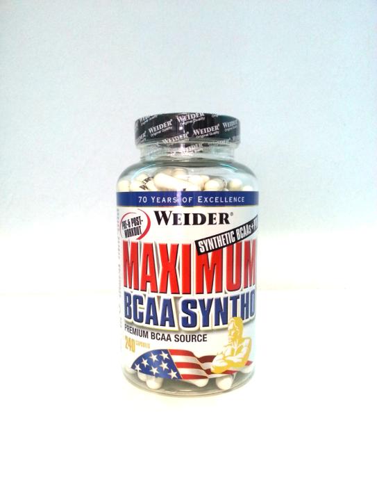 Weider - Maximum BCAA Syntho+PTK 240 Kapseln