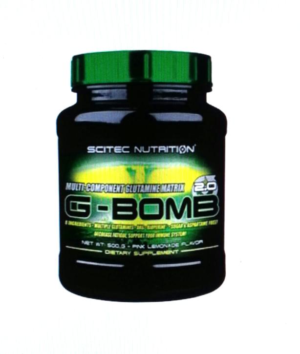 Scitec G-Bomb 2.0 500g Dose