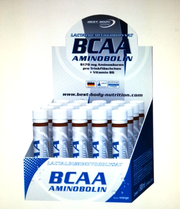 Best Body BCAA Aminobolin, 20 Ampullen