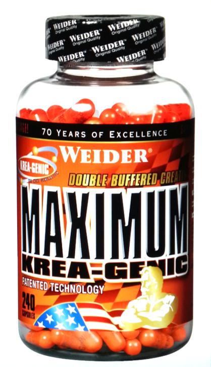 Weider - Maximum KREA-GENIC Kaps