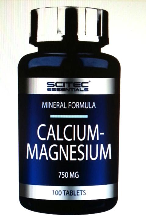 Scitec Calicium-Magnesium Tabletten 100 st.