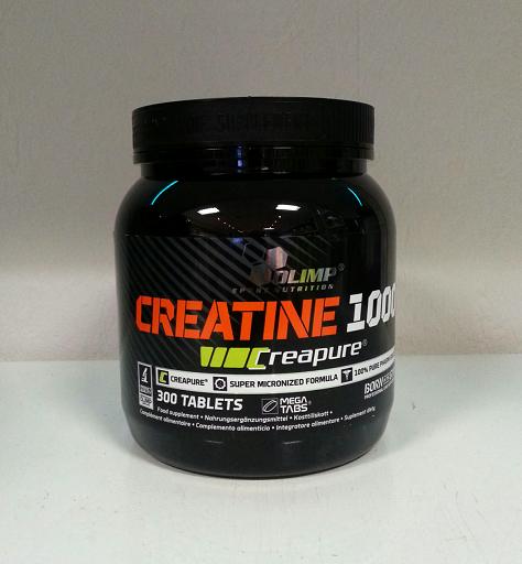Olimp Creatin 1000 , 300 Tabletten (Creapure®)