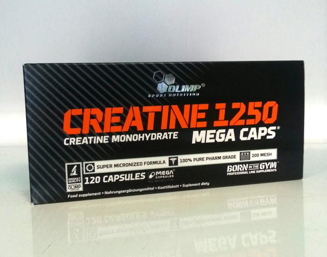 Olimp Creatine Mega Caps (120 Kapseln)