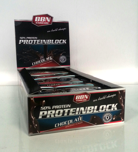 Best Body Protein Block Karton 15 St.