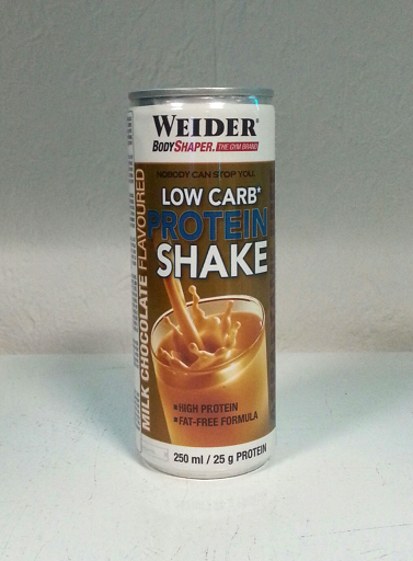 Weider - Low Carb Protein Shake 250ml