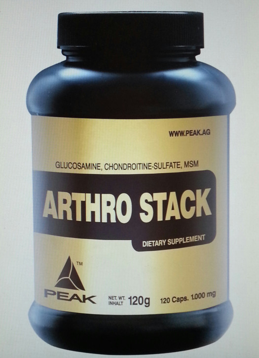 Peak arthro stack 120 kapseln for Fitness depot wedding