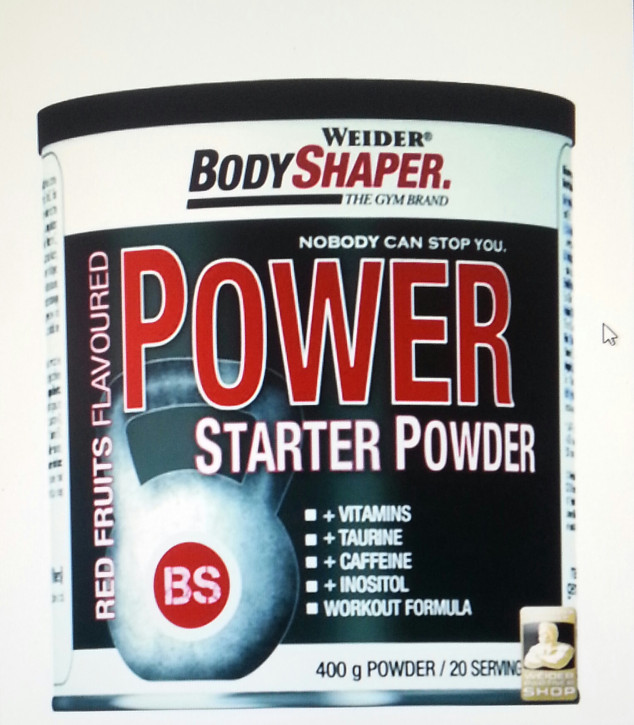 Weider - Power Starter Powder 500g