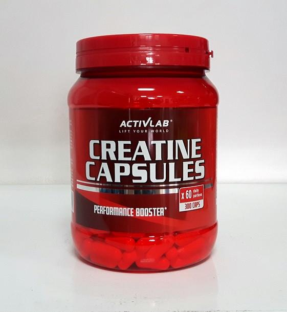 ActiveLab Creatine Capsules, 300st.