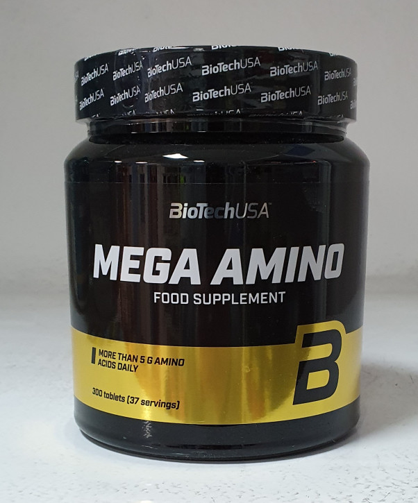BioTech USA Mega Amino 3200, 300 St.