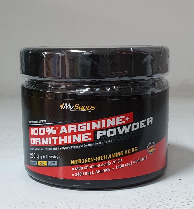 My Supps Arginin+Ornithin 6000, 250g Dose
