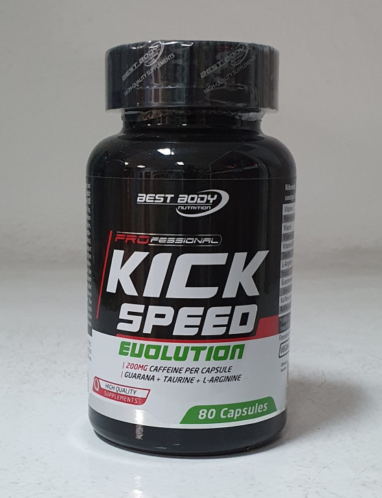Best Body Nutrition - Kick Speed Evolution