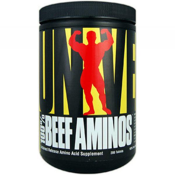 Universal Nutrition Beef Aminos 400 Stück
