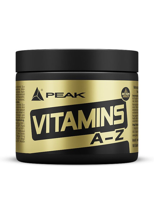 PEAK Vitamins A-Z, 180 Tabletten