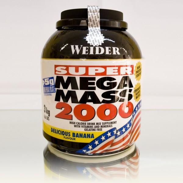 Weider - Mega Mass 2000, 3000g