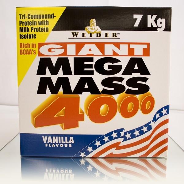 Weider - Mega Mass 4000, 7kg