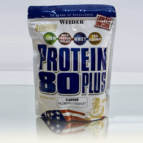 Weider - Protein 80 Plus 500g Pistazie