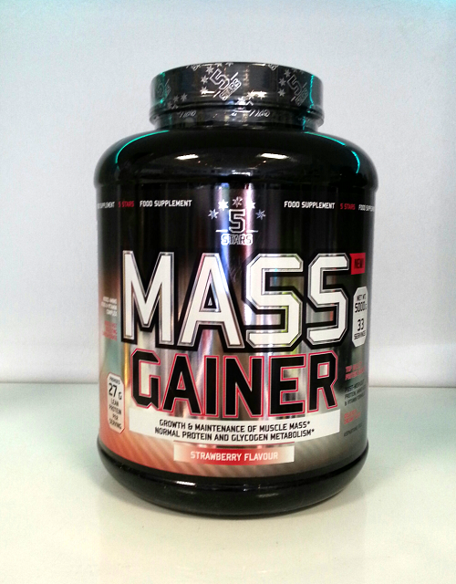 5 stars mass gainer 5000g erdbeere 5 stars mass gainer 5000g 1 for Fitness depot wedding