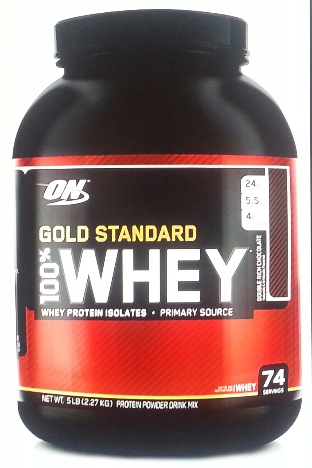 Optimum nutrition whey gold standard 2270g dose toffe for Fitness depot wedding