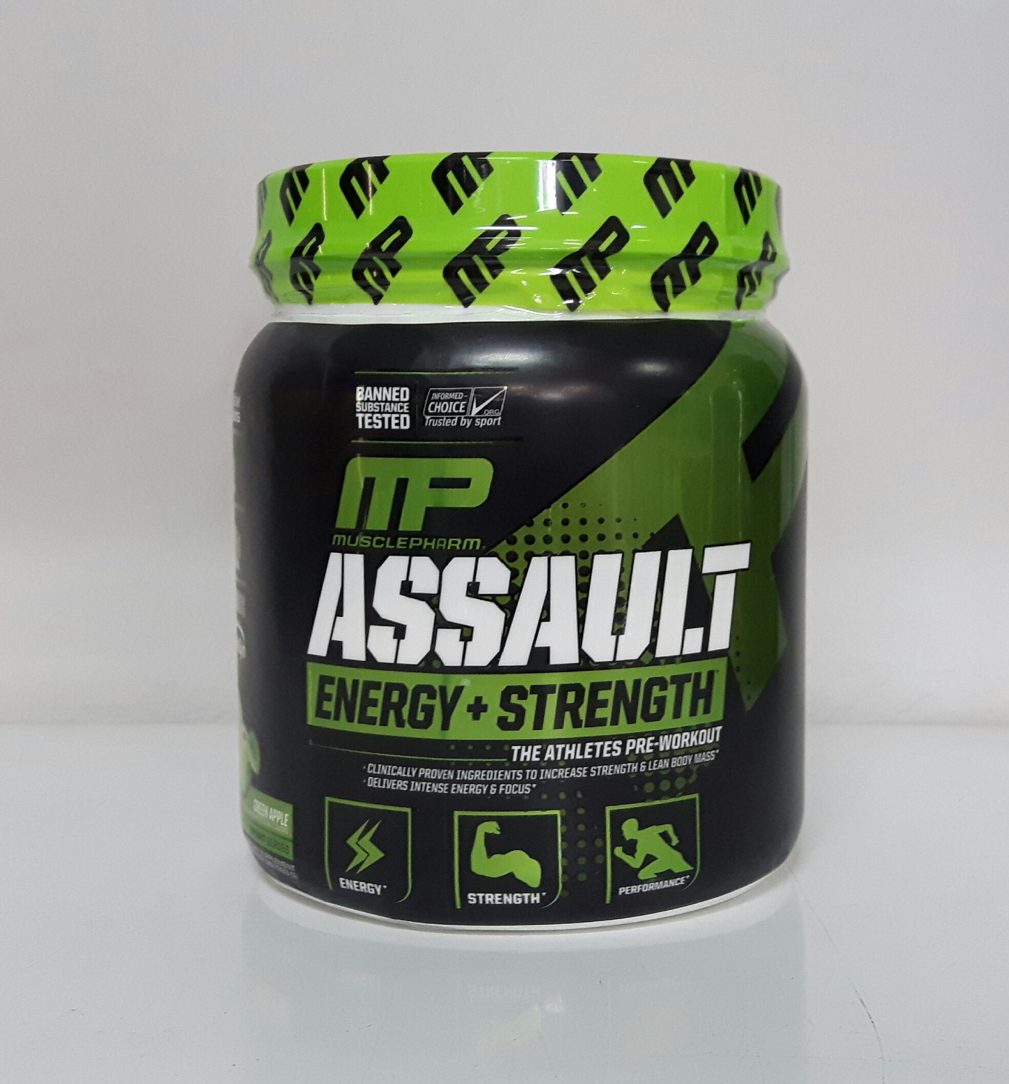 muscle pharm assault 333g erdbeere muscle pharm assault