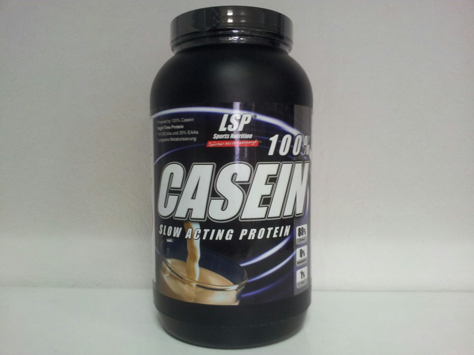Lsp sports nutrition casein slow acting protein 1000g for Fitness depot wedding